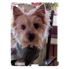 Tea Cup Yorkie Apple iPad 3/4 Hardshell Case (Compatible with Smart Cover)