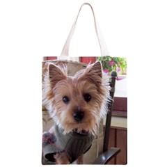 Tea Cup Yorkie Classic Light Tote Bag