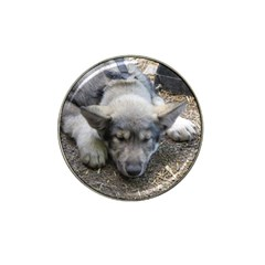 Wolf pup Hat Clip Ball Marker (4 pack)