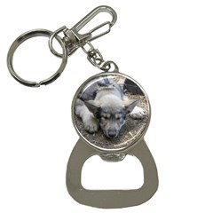Wolf pup Bottle Opener Key Chains