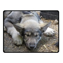 Wolf pup Fleece Blanket (Small)