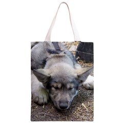 Wolf pup Classic Light Tote Bag