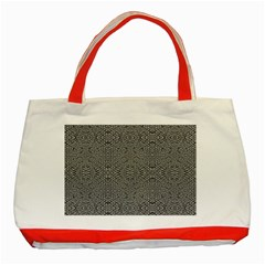 Holy Crossw Classic Tote Bag (Red)