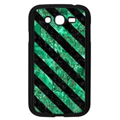 STR3 BK-GR MARBLE (R) Samsung Galaxy Grand DUOS I9082 Case (Black)
