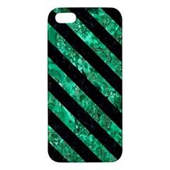 STR3 BK-GR MARBLE (R) iPhone 5S/ SE Premium Hardshell Case