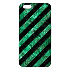 Stripes3 Black Marble & Green Marble Iphone 6 Plus/6s Plus Tpu Case