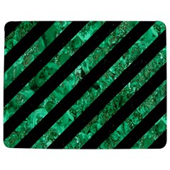 Stripes3 Black Marble & Green Marble Jigsaw Puzzle Photo Stand (rectangular)