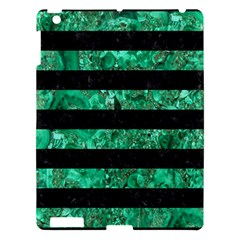 STR2 BK-GR MARBLE Apple iPad 3/4 Hardshell Case