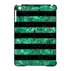 STR2 BK-GR MARBLE Apple iPad Mini Hardshell Case (Compatible with Smart Cover)
