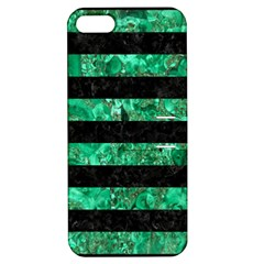 STR2 BK-GR MARBLE Apple iPhone 5 Hardshell Case with Stand