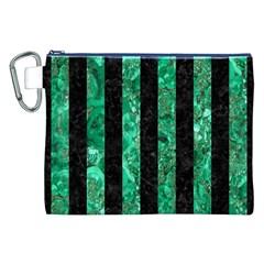 STR1 BK-GR MARBLE Canvas Cosmetic Bag (XXL)