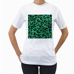 SKN5 BK-GR MARBLE Women s T-Shirt (White)