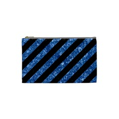 STR3 BK-BL MARBLE Cosmetic Bag (Small)