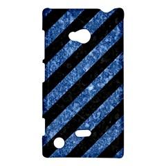 STR3 BK-BL MARBLE Nokia Lumia 720