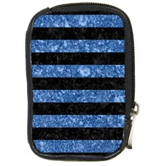 STR2 BK-BL MARBLE Compact Camera Cases