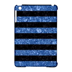 STR2 BK-BL MARBLE Apple iPad Mini Hardshell Case (Compatible with Smart Cover)
