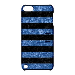 STR2 BK-BL MARBLE Apple iPod Touch 5 Hardshell Case with Stand