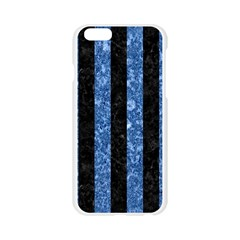 STR1 BK-BL MARBLE Apple Seamless iPhone 6/6S Case (Transparent)