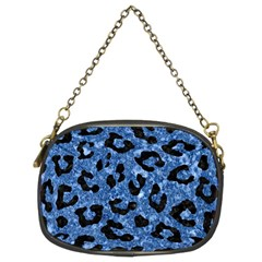 SKN5 BK-BL MARBLE Chain Purses (Two Sides)