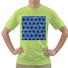 RYL1 BK-BL MARBLE Green T-Shirt