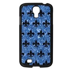 RYL1 BK-BL MARBLE Samsung Galaxy S4 I9500/ I9505 Case (Black)