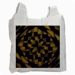 Bold Geometric Recycle Bag (Two Side)