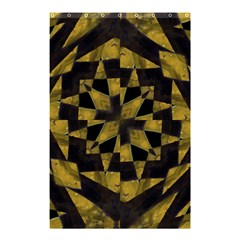 Bold Geometric Shower Curtain 48  x 72  (Small)