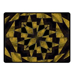Bold Geometric Double Sided Fleece Blanket (Small)