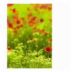 Poppy I Small Garden Flag (Two Sides)