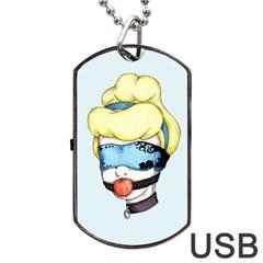 Bibbidi Bobbidi Bondage Dog Tag USB Flash (One Side)