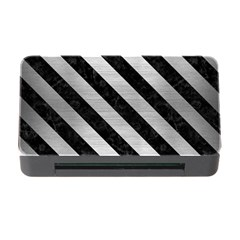 STR3 BK MARBLE SILVER (R) Memory Card Reader with CF