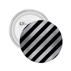 STR3 BK MARBLE SILVER 2.25  Buttons