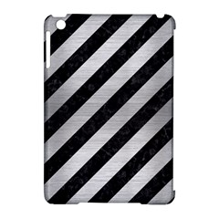 STR3 BK MARBLE SILVER Apple iPad Mini Hardshell Case (Compatible with Smart Cover)