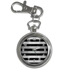 STR2 BK MARBLE SILVER Key Chain Watches
