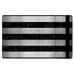 STR2 BK MARBLE SILVER Apple iPad 2 Flip Case