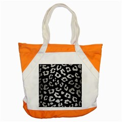 SKN5 BK MARBLE SILVER (R) Accent Tote Bag
