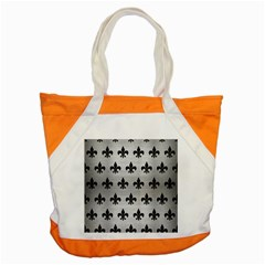 RYL1 BK MARBLE SILVER Accent Tote Bag