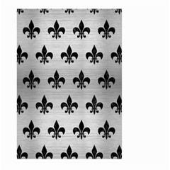 RYL1 BK MARBLE SILVER Large Garden Flag (Two Sides)