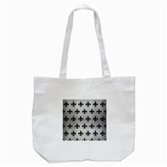 RYL1 BK MARBLE SILVER Tote Bag (White)