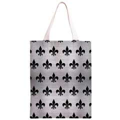 RYL1 BK MARBLE SILVER Classic Light Tote Bag