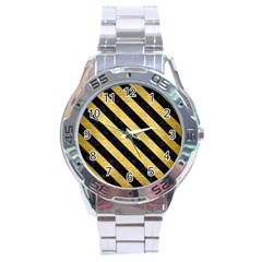STR3 BK MARBLE GOLD (R) Stainless Steel Analogue Watch