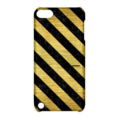 STR3 BK MARBLE GOLD (R) Apple iPod Touch 5 Hardshell Case with Stand