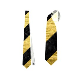 STR3 BK MARBLE GOLD Neckties (One Side)