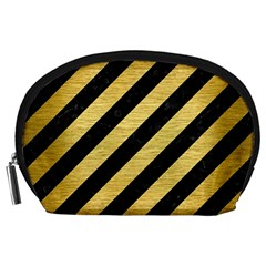 STR3 BK MARBLE GOLD Accessory Pouches (Large)