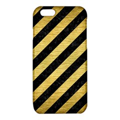 STR3 BK MARBLE GOLD iPhone 6/6S TPU Case