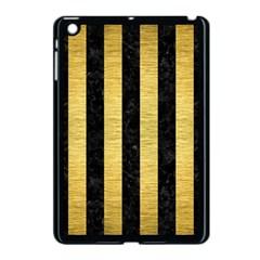 STR1 BK MARBLE GOLD Apple iPad Mini Case (Black)