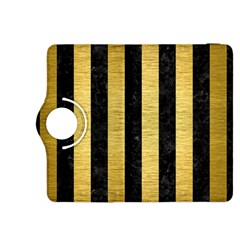 STR1 BK MARBLE GOLD Kindle Fire HDX 8.9  Flip 360 Case