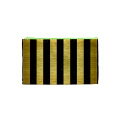 STR1 BK MARBLE GOLD Cosmetic Bag (XS)