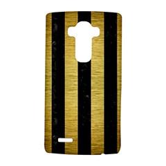 STR1 BK MARBLE GOLD LG G4 Hardshell Case