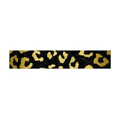 SKN5 BK MARBLE GOLD (R) Flano Scarf (Mini)